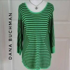 DANA BUCHMAN Emerald Green Top